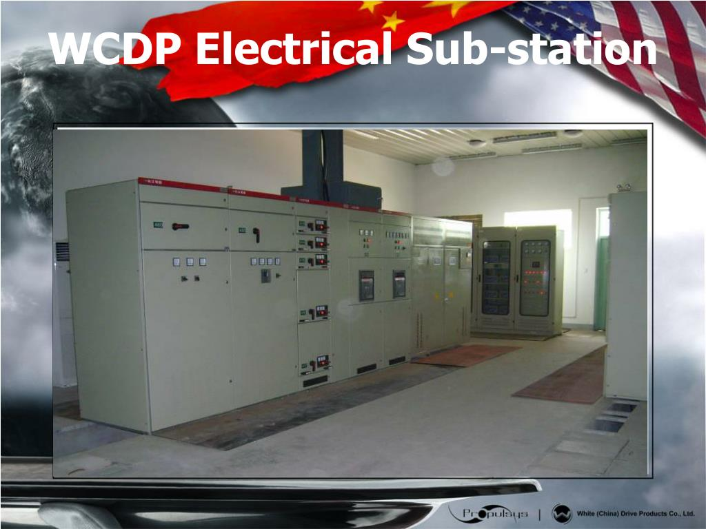 WCDP Electrical Sub-station