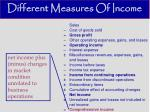 different measures of income10