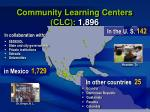 community learning centers clc 1 896