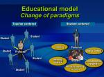 educational model change of paradigms