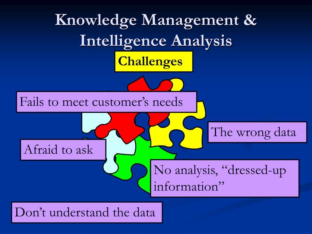 Knowledge Management & Intelligence Analysis