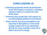 conclusions 5