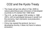 co2 and the kyoto treaty
