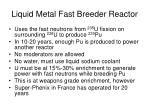 liquid metal fast breeder reactor