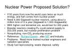 nuclear power proposed solution