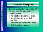 circadian disruption