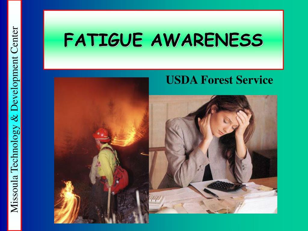 fatigue awareness l.