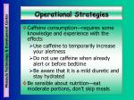 operational strategies39