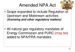 amended npa act