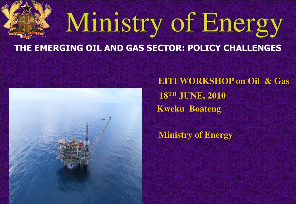 ministry of energy l.