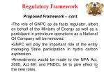 regulatory framework22