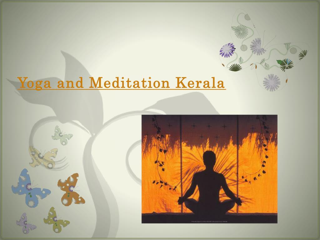 yoga and meditation kerala l.