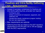 flowlines and intra facility gathering lines requirements