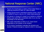 national response center nrc