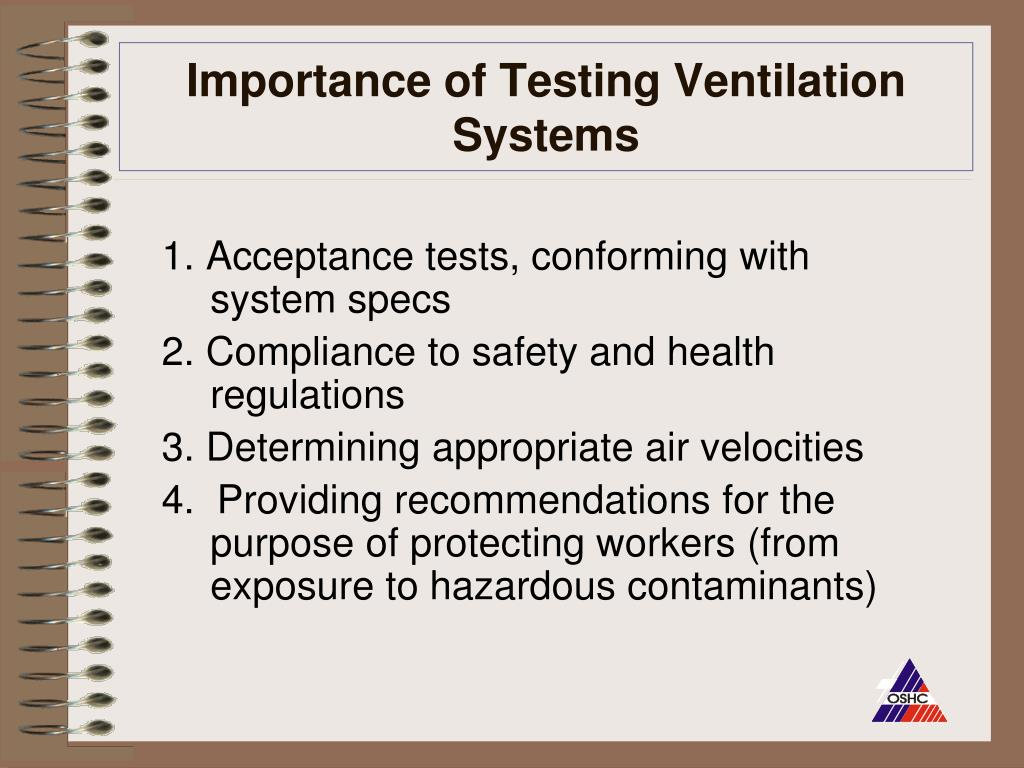 Importance of Testing Ventilation Systems
