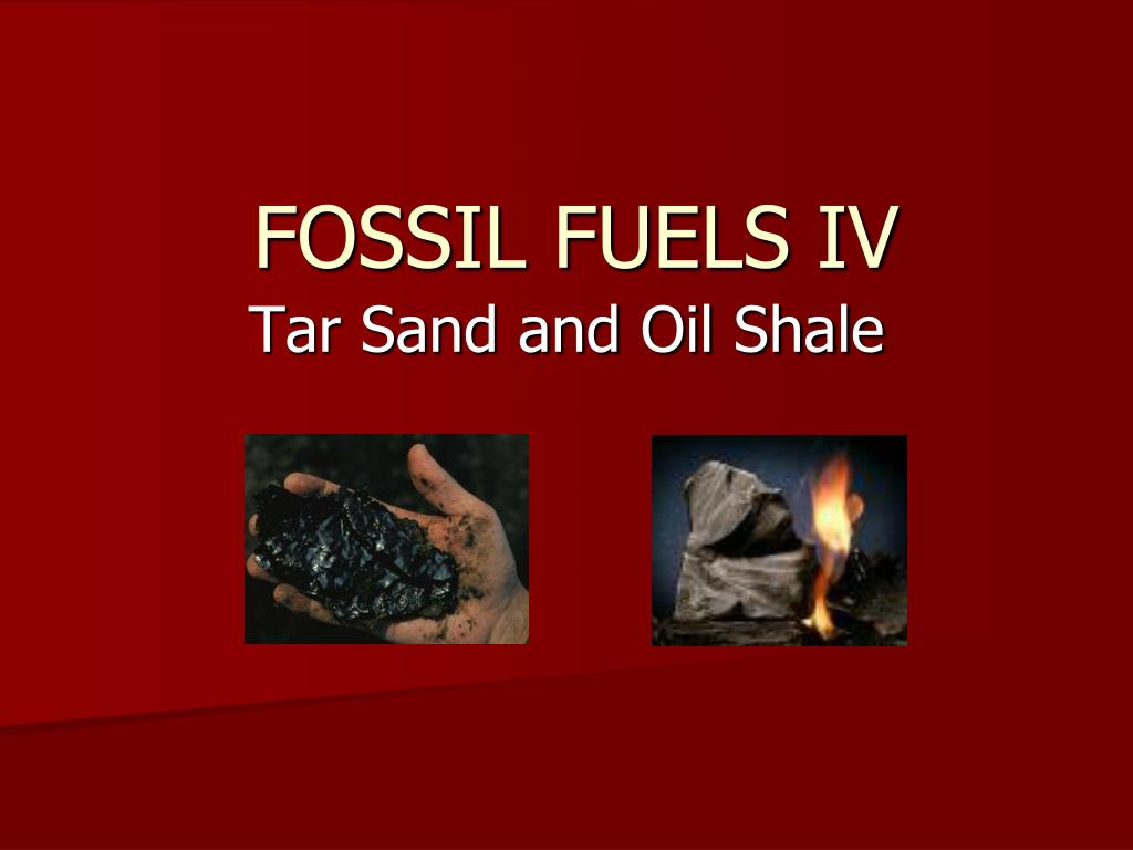 fossil fuels iv l.