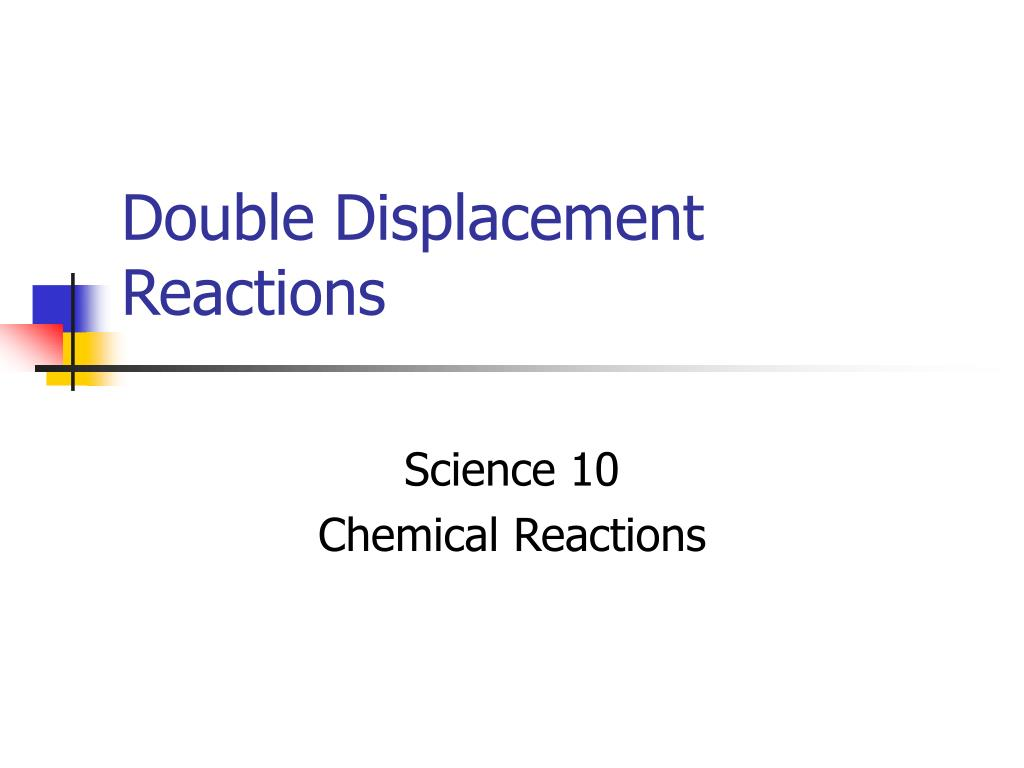 double displacement reactions l.