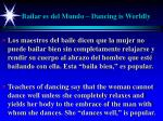 bailar es del mundo dancing is worldly15