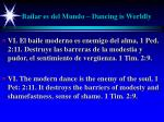 bailar es del mundo dancing is worldly31