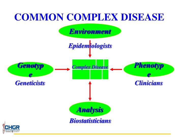 Common complex disease