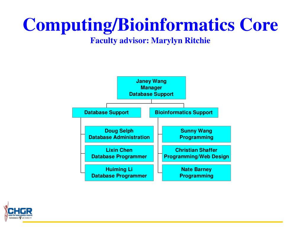Computing/Bioinformatics Core