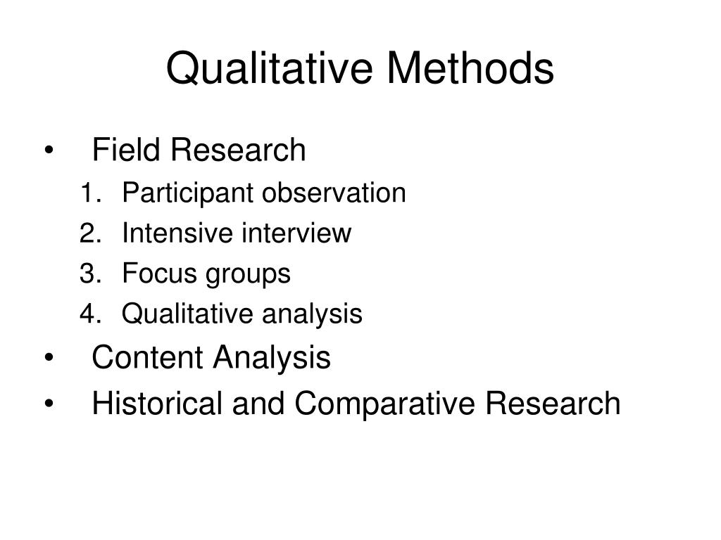 qualitative methods l.