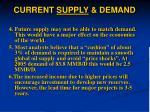 current supply demand9
