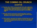 the coming oil crunch cont d19