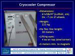 cryocooler compressor