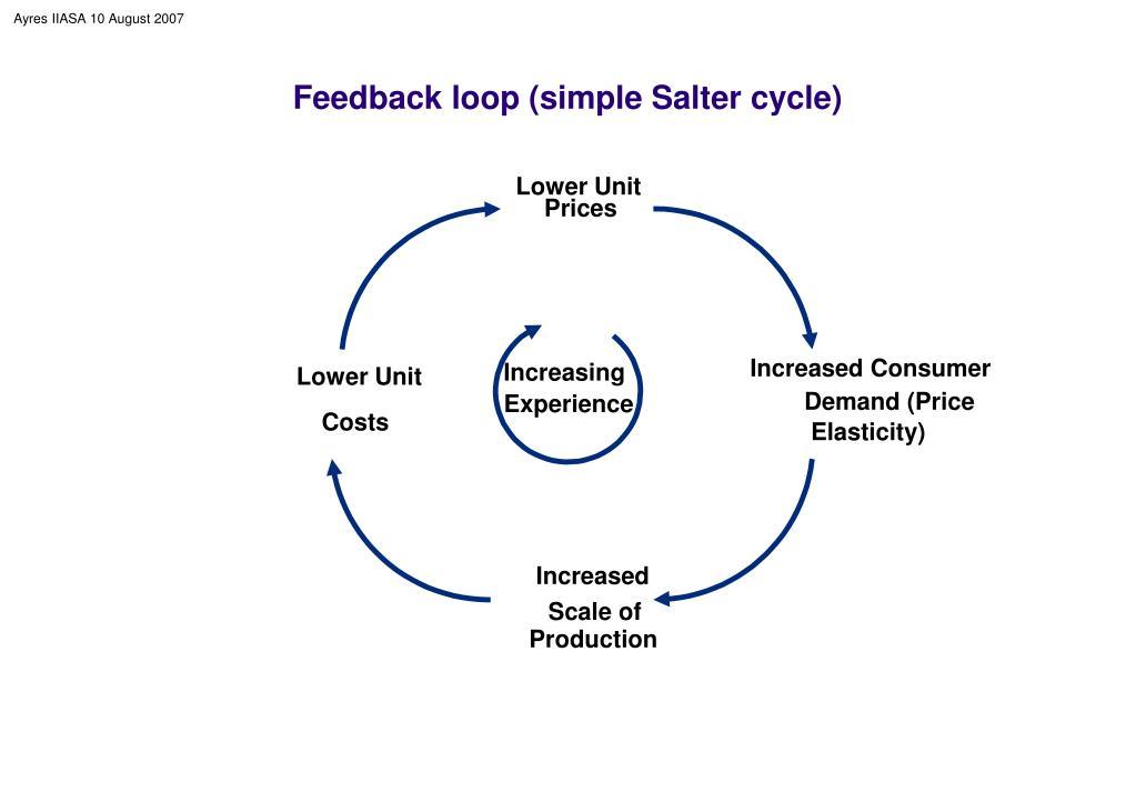 Feedback loop (simple Salter cycle)