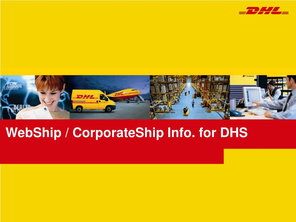 webship corporateship info for dhs l.