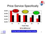 price service specifically