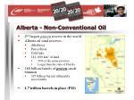 alberta non conventional oil