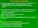 enzymatic degumming