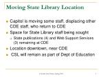moving state library location