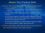 assess your practical skills