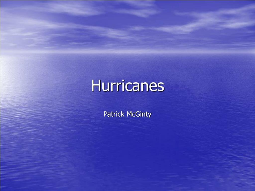 hurricanes l.