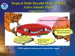 tropical multi decadal mode tmm active atlantic phase