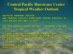 central pacific hurricane center tropical weather outlook26