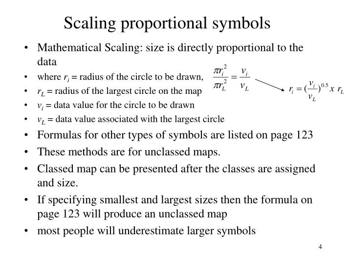 Ppt Chapter 7 Proportional Symbol Mapping Slocum Powerpoint