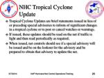 nhc tropical cyclone update