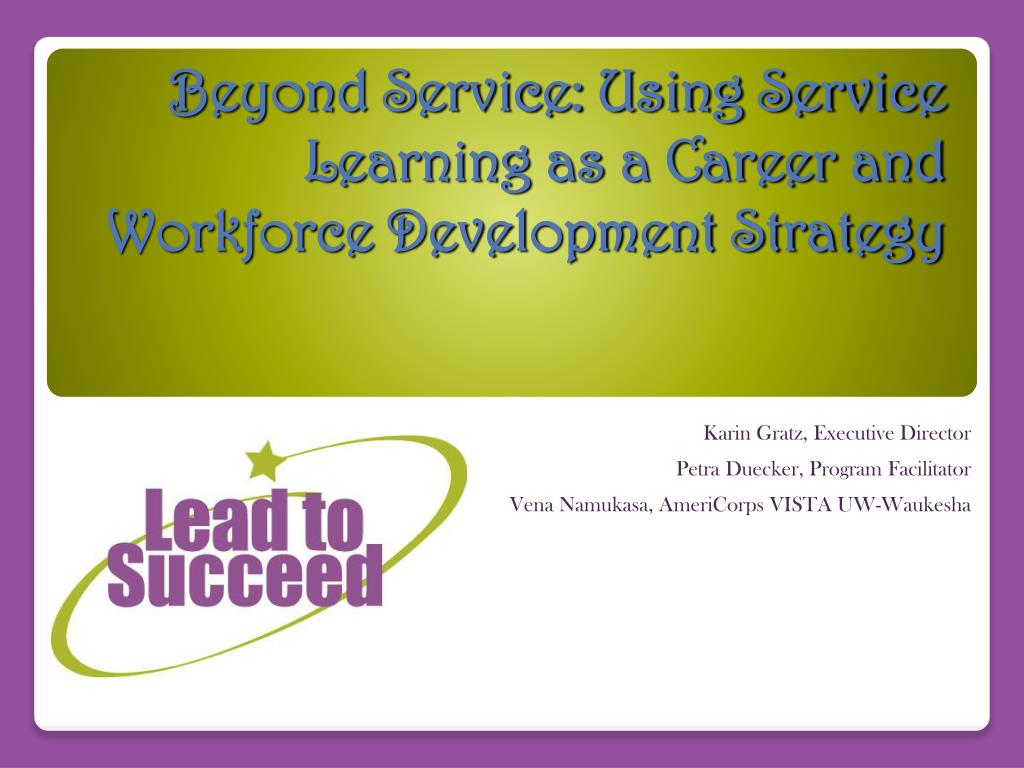 how to start a career in learning and development