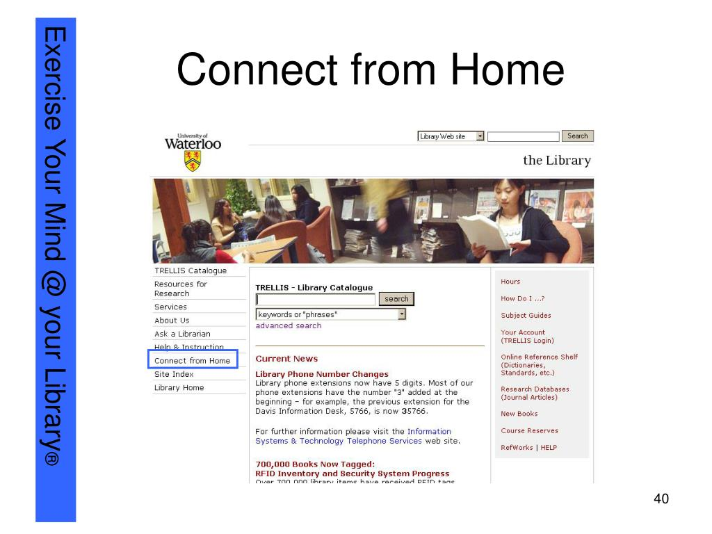 Connect from Home