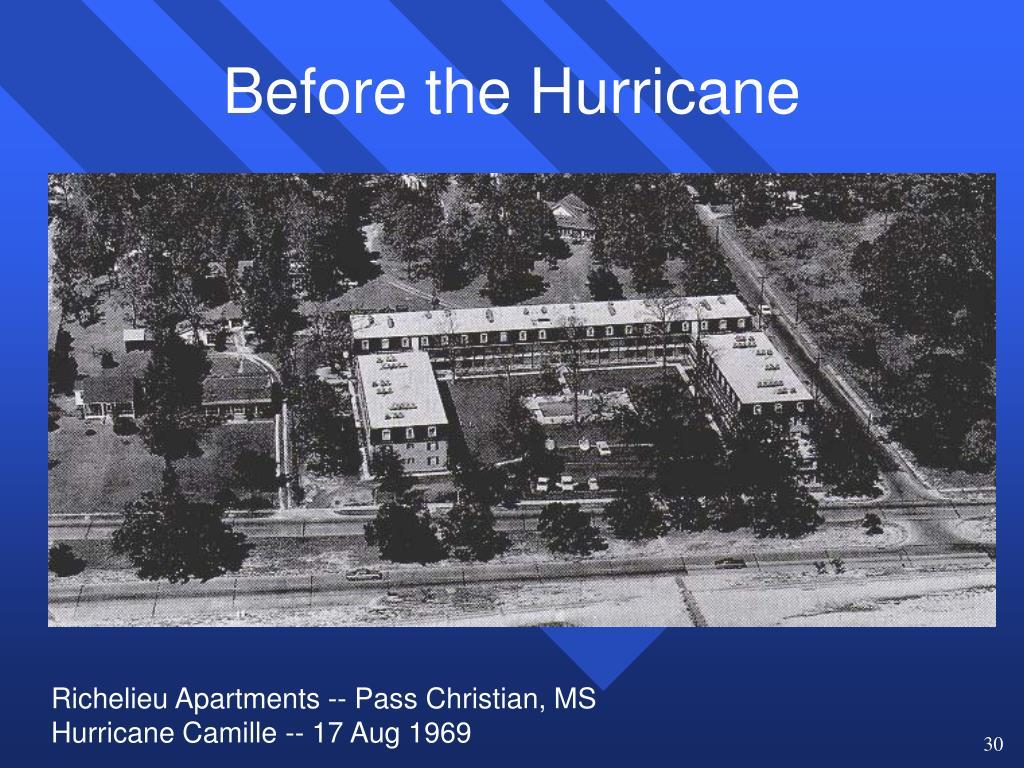 Before the Hurricane