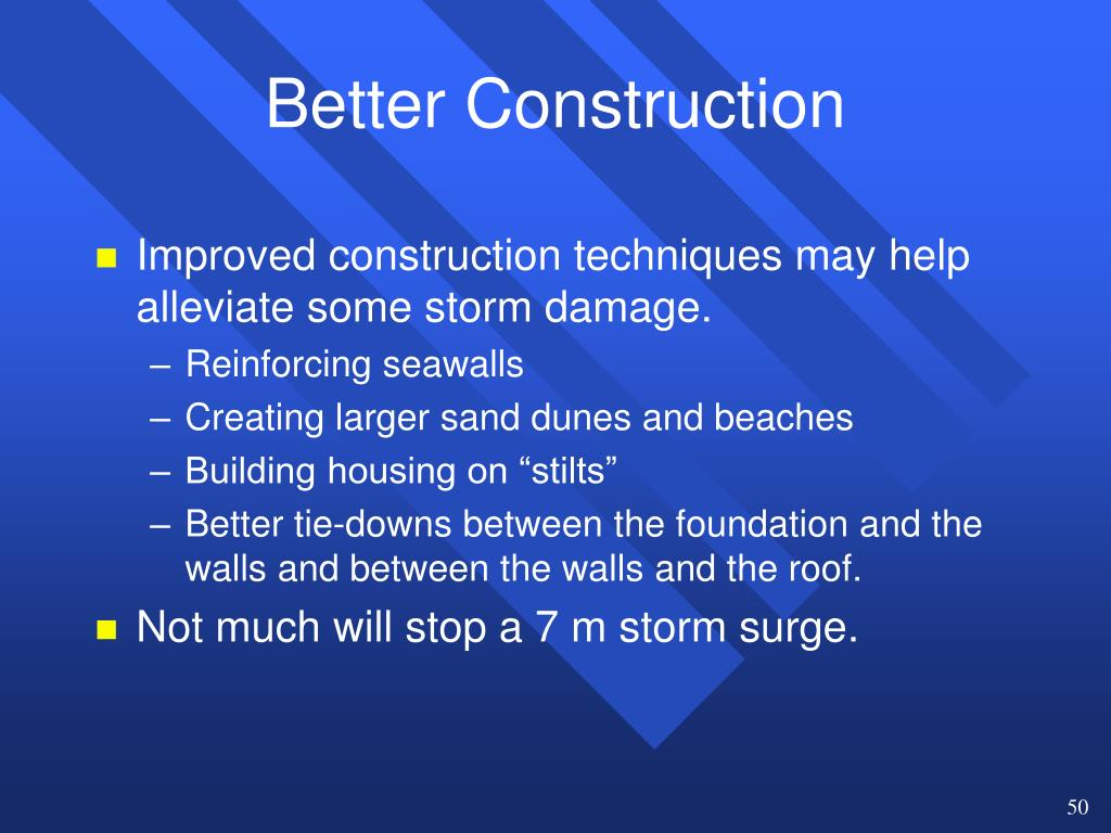 Better Construction