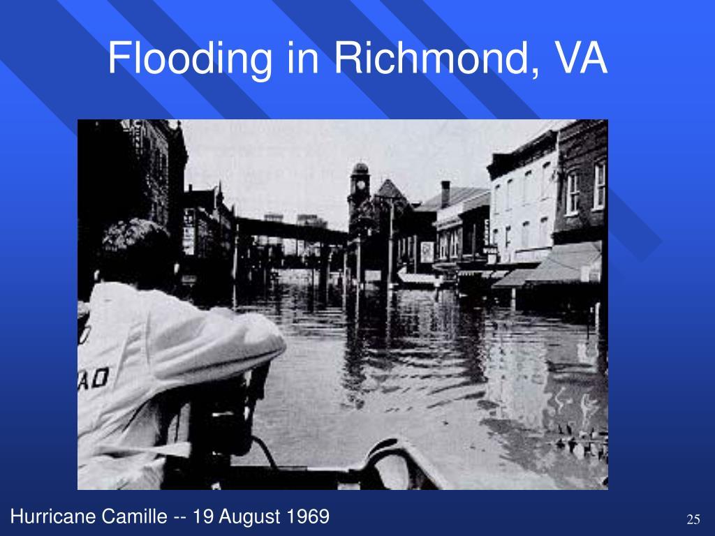 Flooding in Richmond, VA