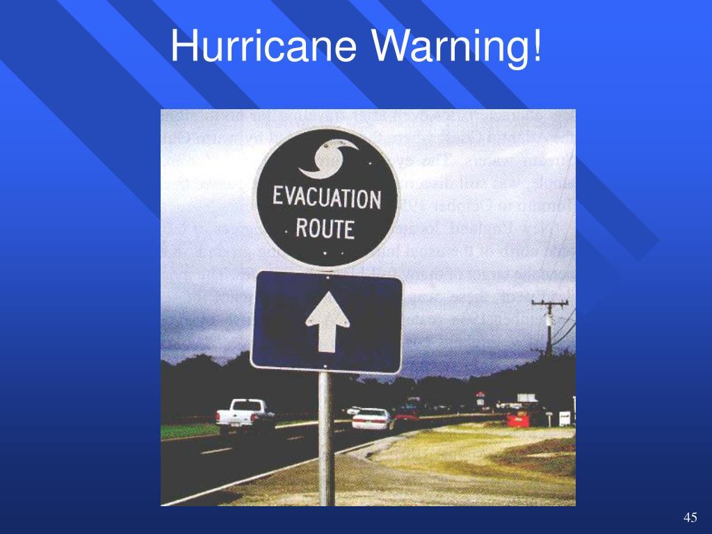 Hurricane Warning!
