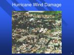 hurricane wind damage