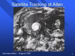 satellite tracking of allen39
