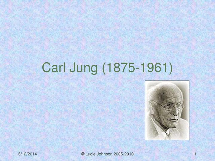 carl jung and the theory of